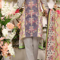 10% OFF NEEDLEZ STITCHED LAWN SUITS