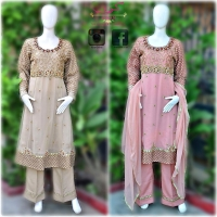 LUXURY HANDWORK FROCK STYLE SUITS