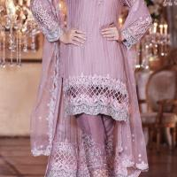MARIA B Inspired 3 PC CHiffon Suits