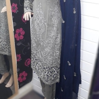 BAROQUE INSPIRED CHIFFON SUITS (2C)