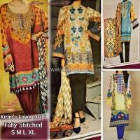 LAWN 2018 FULLY STITCHED SUITS