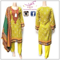 Al-Karam Linen rep Stitched suits Available