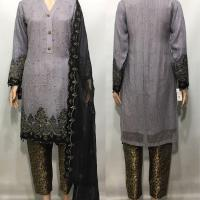 Luxury Embroidered Dupatta 2 CLRS