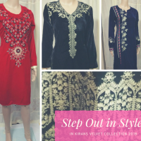 VELVET KURTA TOPS & SUITS