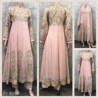 Long Length 3 pc Chiffon Suit