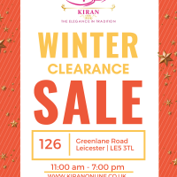 CLEARANCE SALE 40% OFF