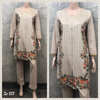Linen Embroidered 3 pc suits 5CL