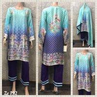Medium Pure Silk 3 pc suit